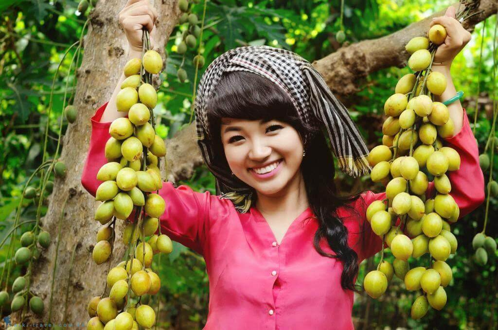 The attraction of fruit orchards in the Southwest Vietnam