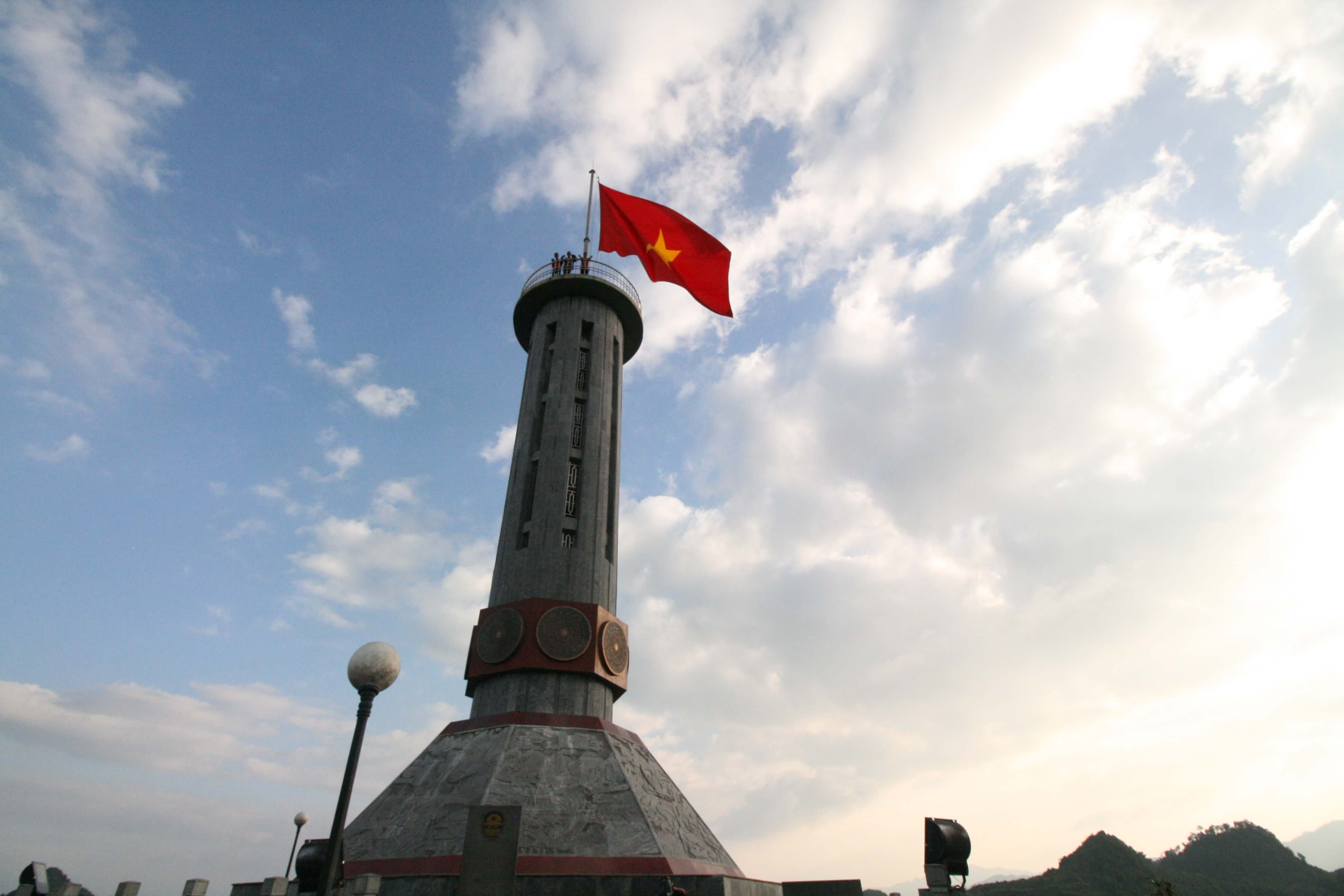 Lung Cu flag tower, the northernmost point of Vietnam