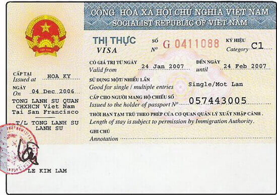 Does Vietnam visa approval letter only work at the airport?